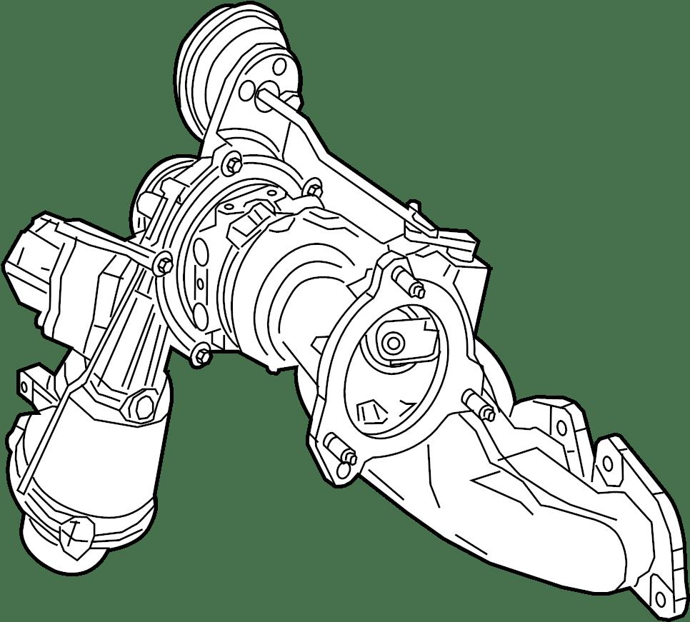 Nissan Altima Turbocharger. KIT, INTERCOOLER, GASKET