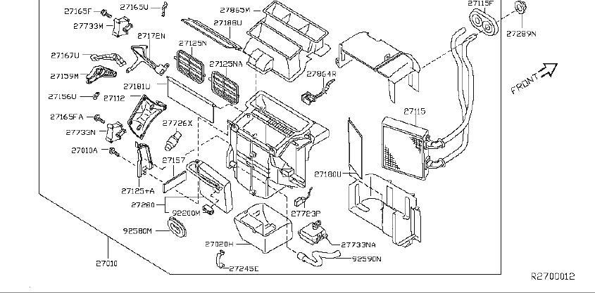 Nissan Maxima Sensor Intake. Sensor THERMISTER. AIR