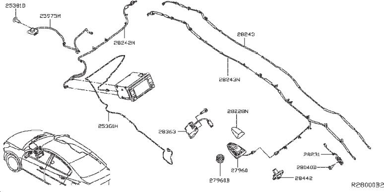 Nissan Sentra Sd Card: Map. STRGSW, IPOD, PARTITION