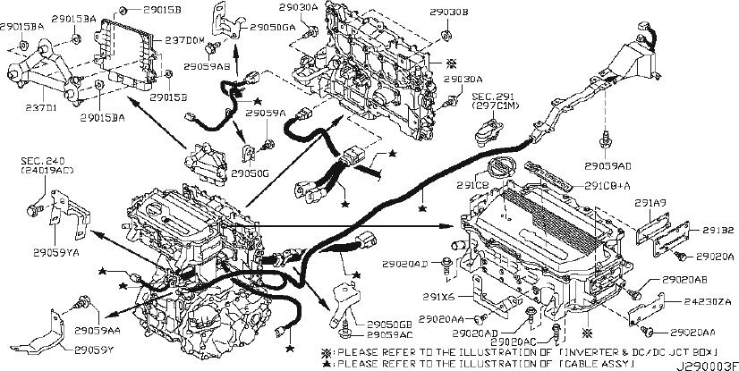 Nissan Frontier Clip Wiring Harness. FITTING, ASSY