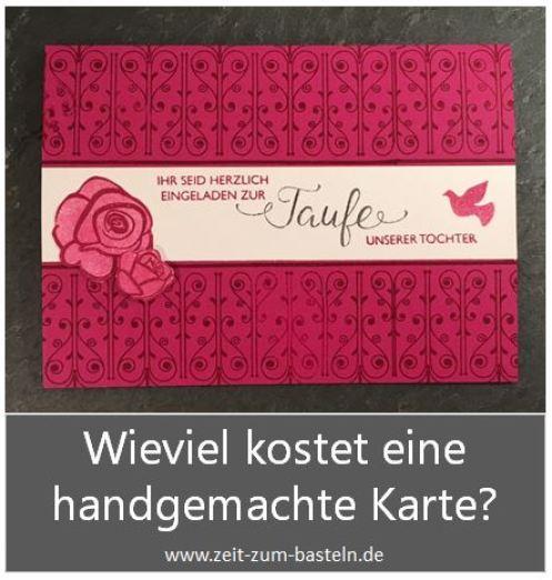 Freebie - Kalkulationsdatei für selbstgemachte Karten - www.zeit-zum-basteln.de