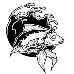 Les sardines à l'encre