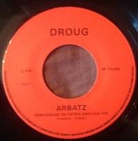 "Michel Arbatz – Temoignage De Fatma Sahlioui Label: Disques Droug – D 4101 Format: Vinyl, 7"", 45 RPM, EP"