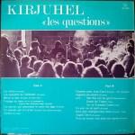 """Kirjuhel – """"Les Questions"""" Label: Disques Droug – D 5.101 Format: Vinyl, LP, Album Pays: France"""