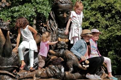 Tommy Pützstück, Impressionen im  Central Park  New York