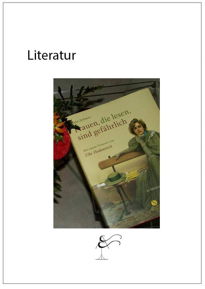 Literatur zur künstlerischen Fotografie
