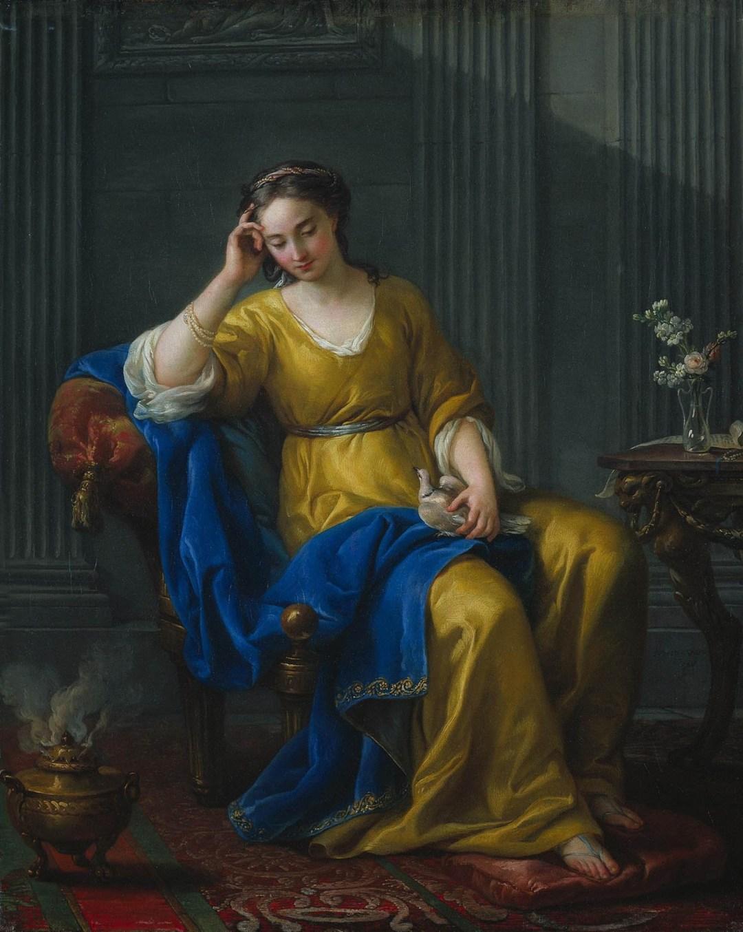 Wolfgang Ahrens: Joseph Marie Vien: Sweet Melancholy 1756