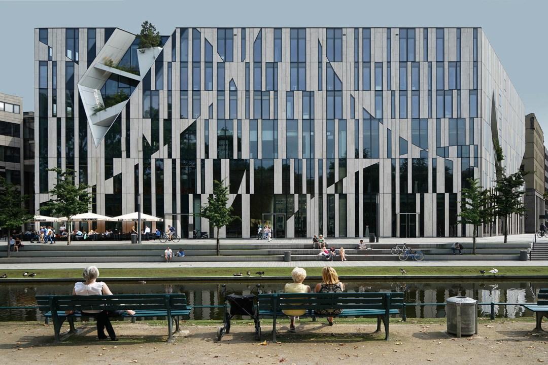 Wolfgang Ahrens Daniel Libeskind Kö-Bogen, Düsseldorf 2017