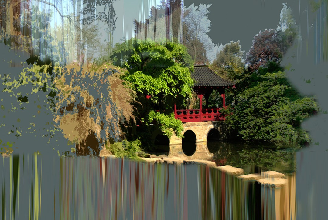 Wolfgang Ahrens Im japanischen Garten 2013