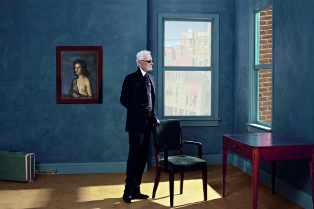 Wolfgang Ahrens - Looking beyond - Hommage an Edvard Hopper 2013