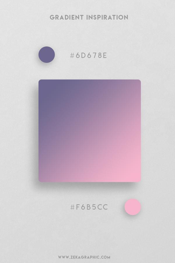 10 Rum Illusion Beautiful Color Gradient Inspiration Design
