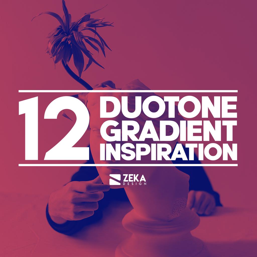 12 Duotone Gradient Inspiration Graphic Design Blog