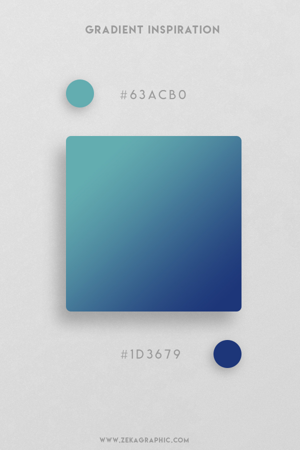 14 Tradewind Bay of Many Beautiful Color Gradient Inspiration Design