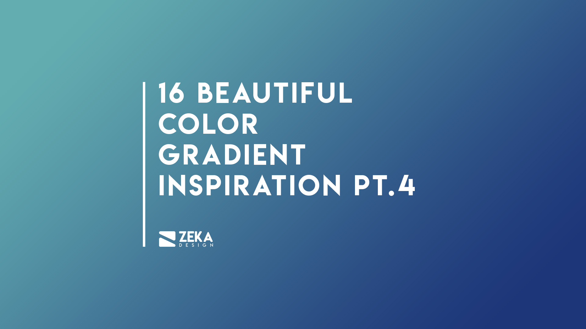 16 Beautiful Color Gradient Inspiration For Graphic Design Inspiration