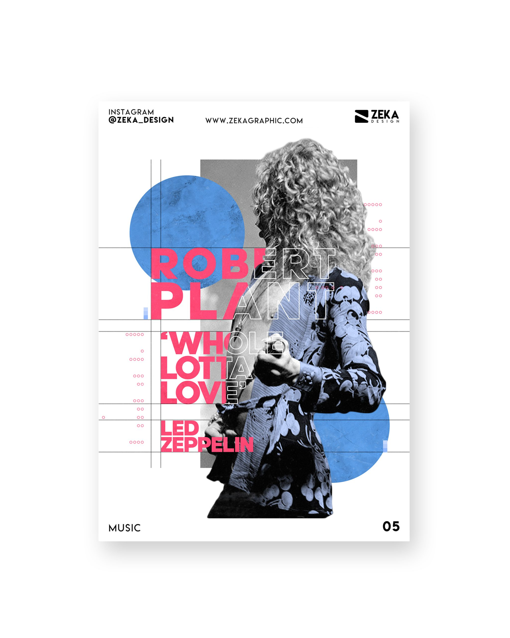 Led Zeppelin Music Poster Design Collection Zeka Design