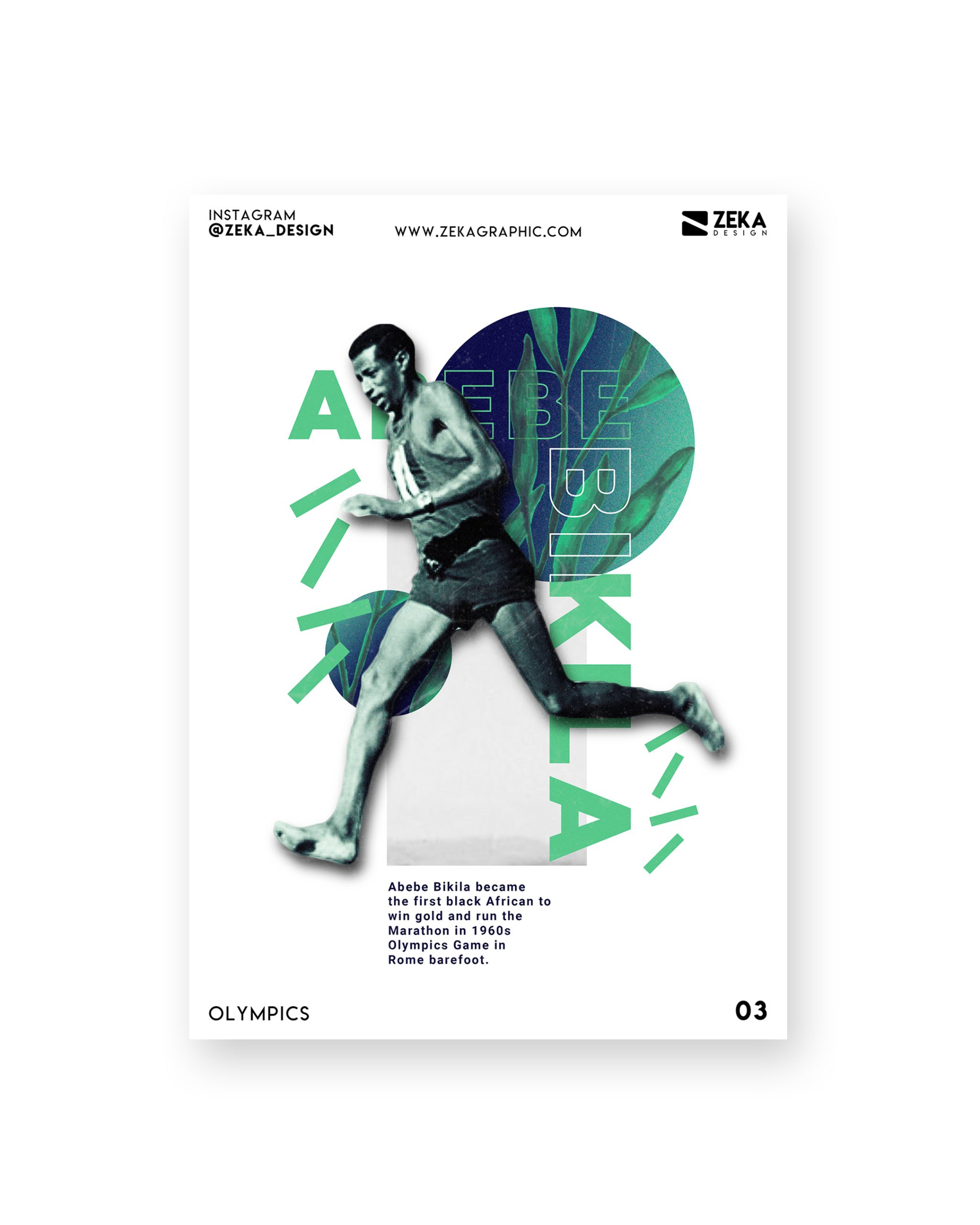 Olympics Poster Design Series By Zeka Design Graphic Design Inspiration