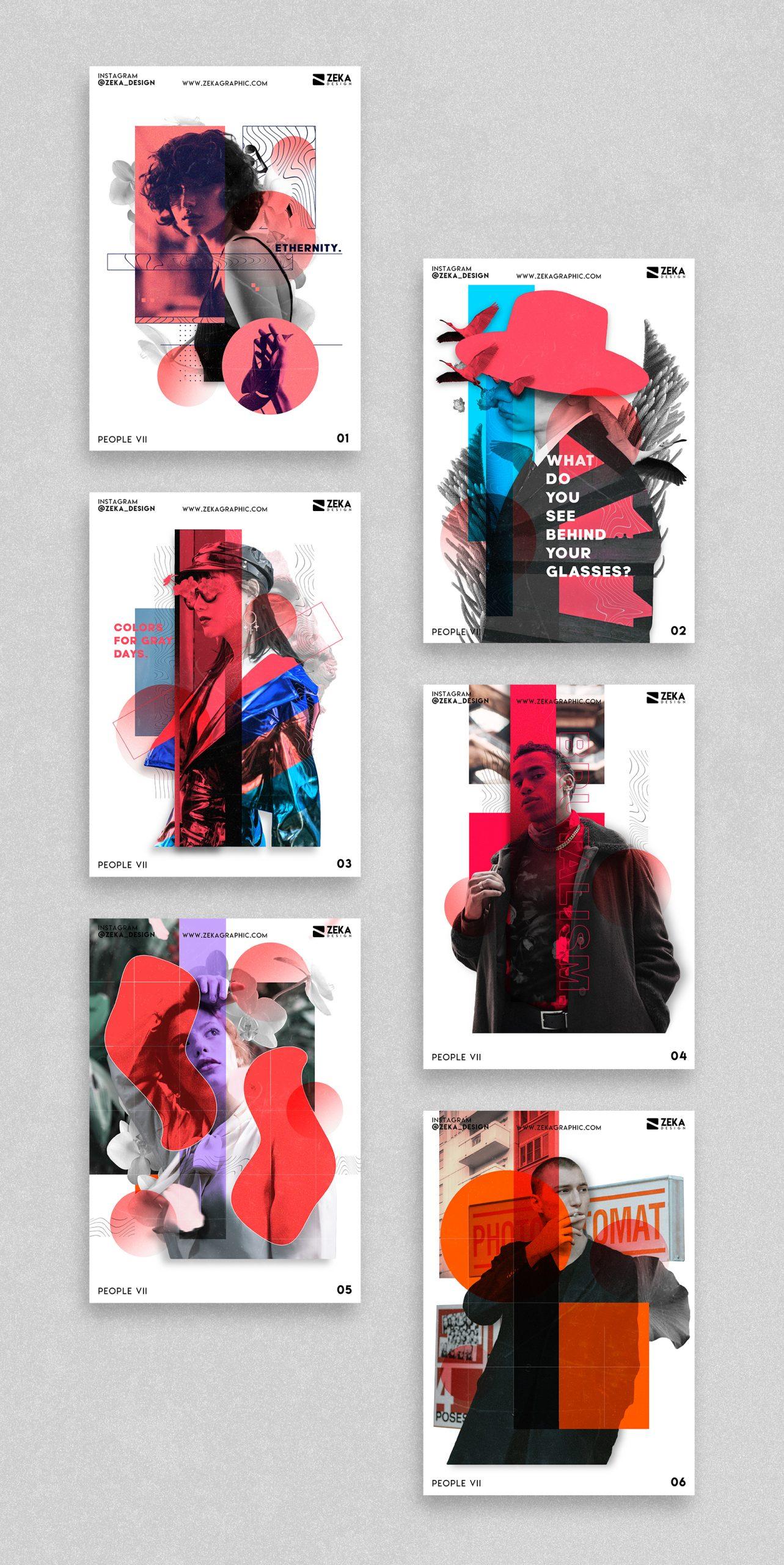 2021 People VII Poster Design Inspiration by Zeka Design