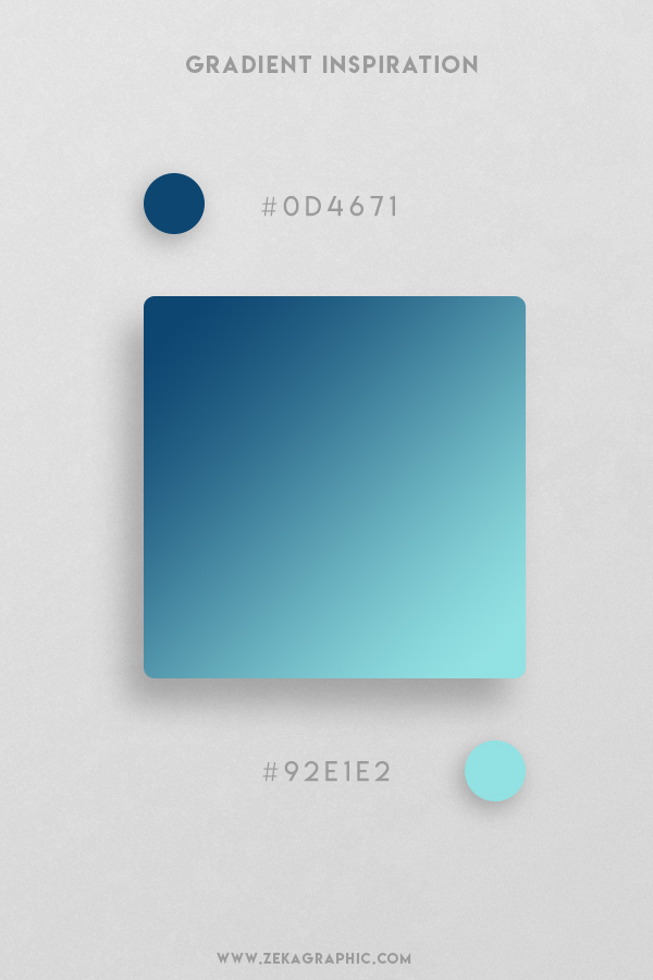 27 Dark Cerulean Charlote Beautiful Color Gradient Inspiration Design