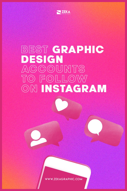 Best Graphic Design Accounts to Follow on Instagram Pinterest