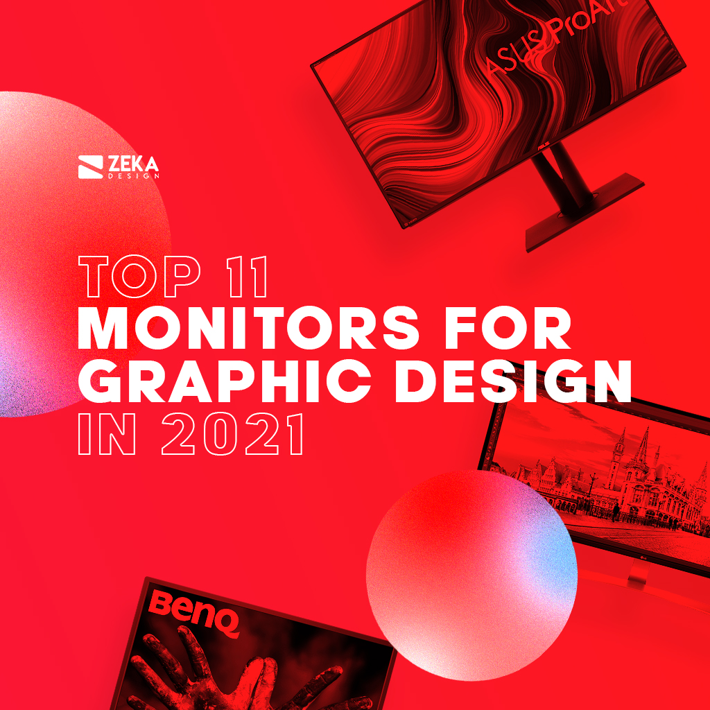 Best Monitors For Graphic Designers and Creatives