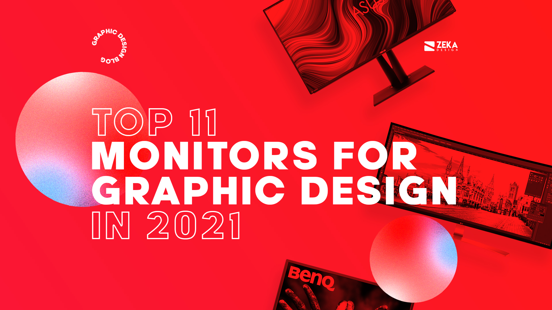 Best Monitors for Graphic Design in 2021