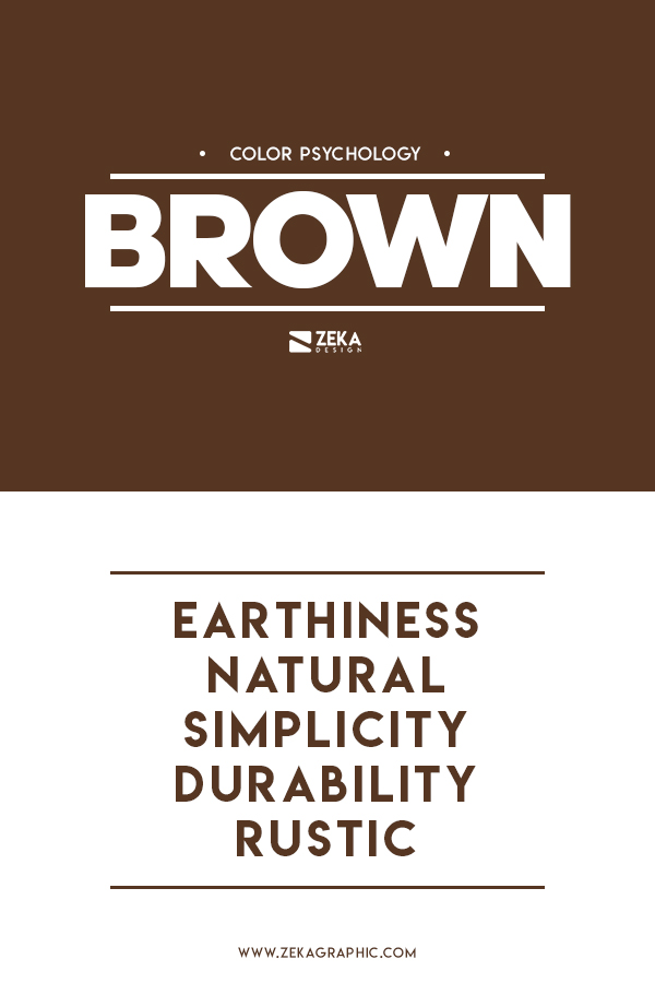 Brown Color Meaning Graphic Design Color Theory Guide