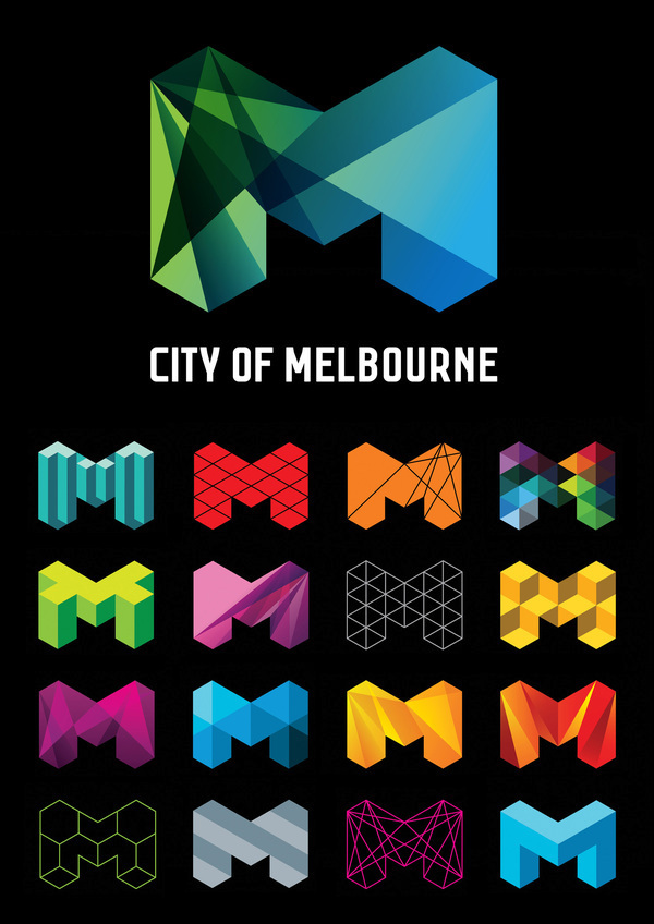 City Of Melbourne Logo Design