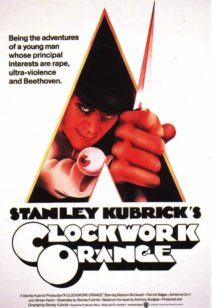 Clockwork Orange Poster Design