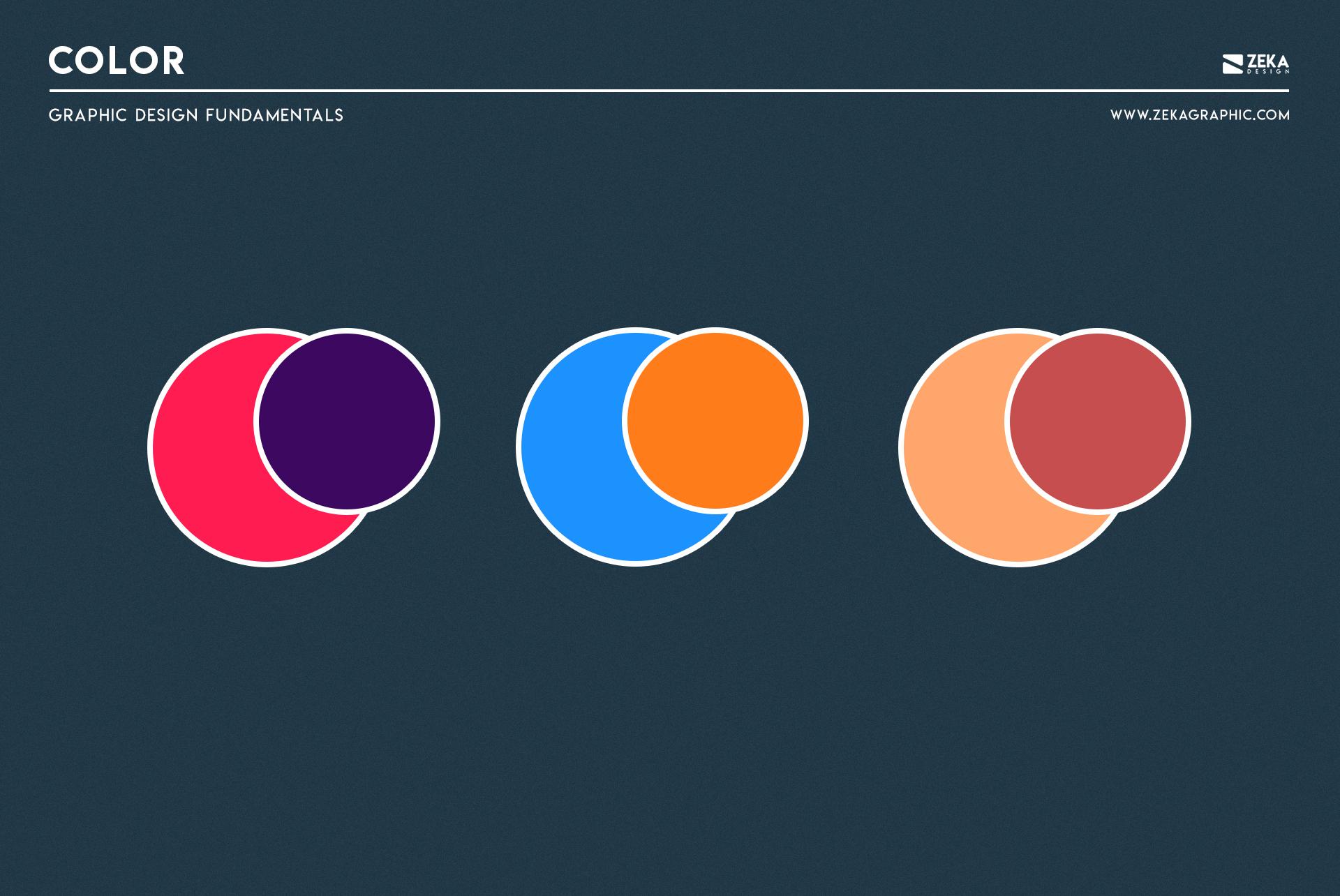 Color Graphic Design Fundamental Elements