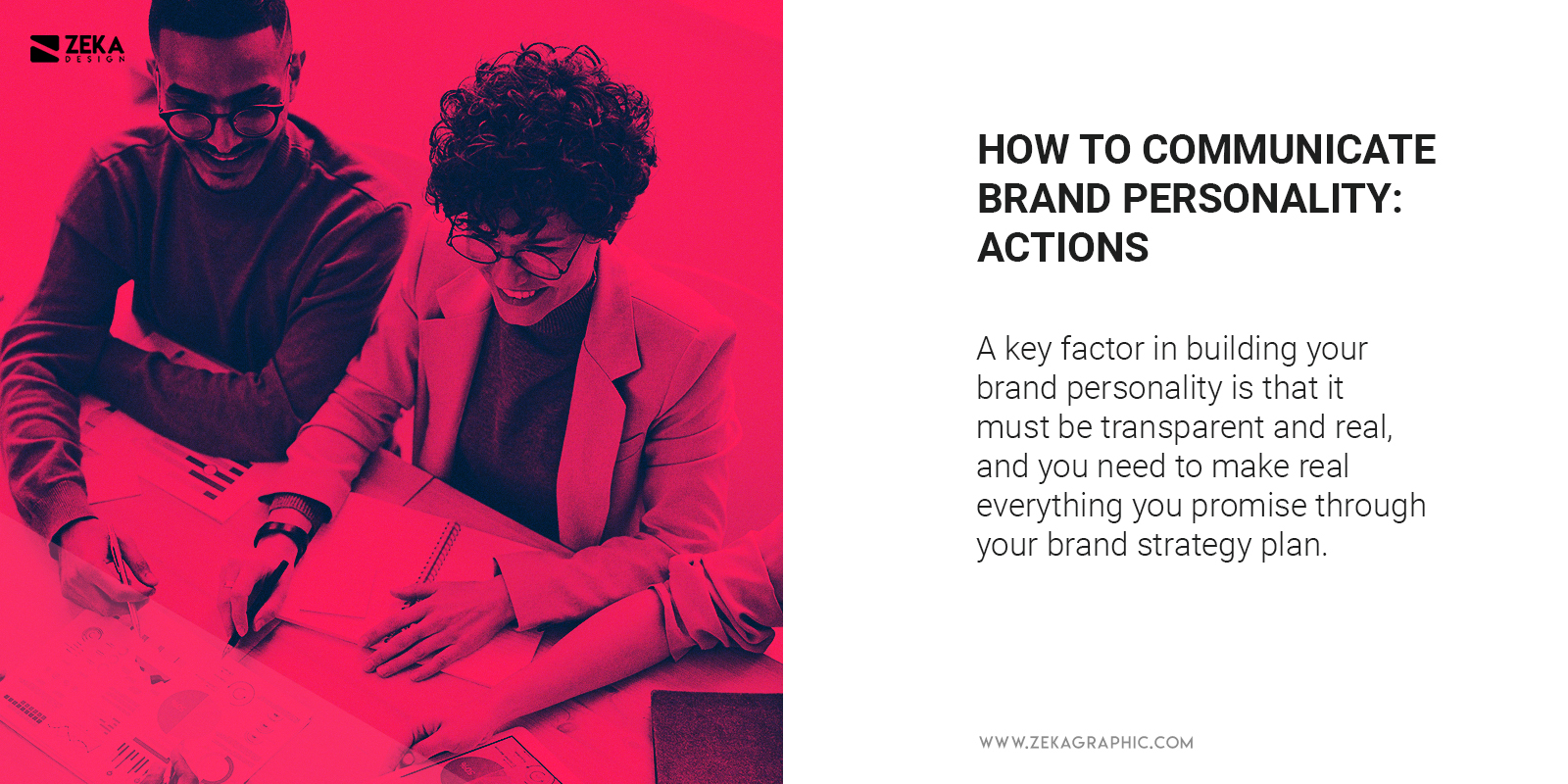 Communicate Brand Personality With Actions