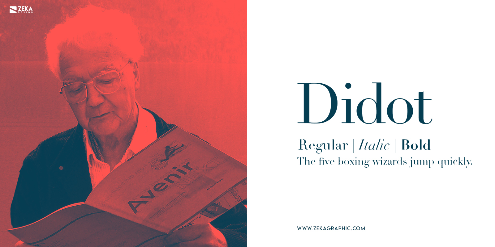 Didot Fonts Every Graphic Designer Should Have