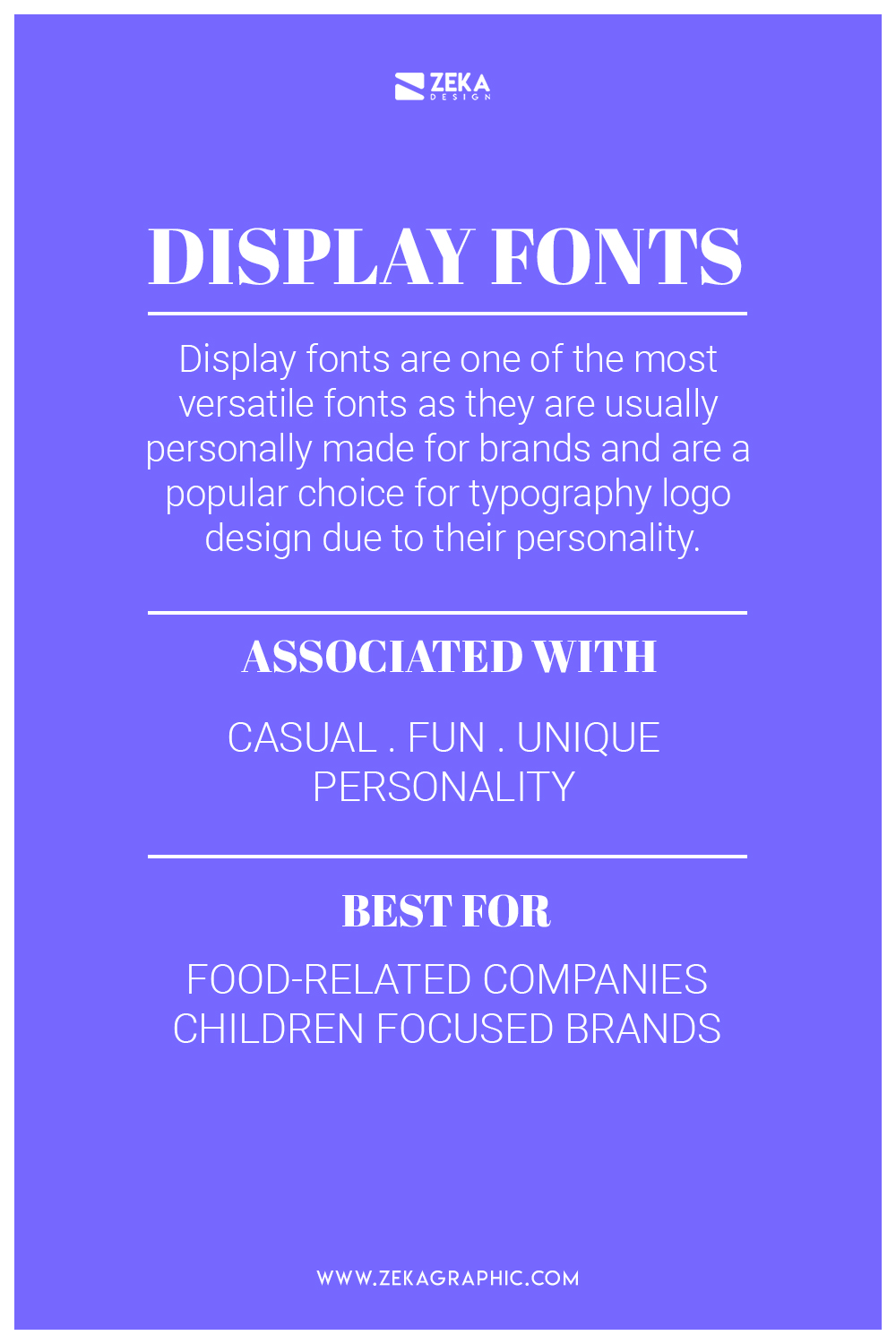 Display and Decorative Font Meaning and How To Use Them