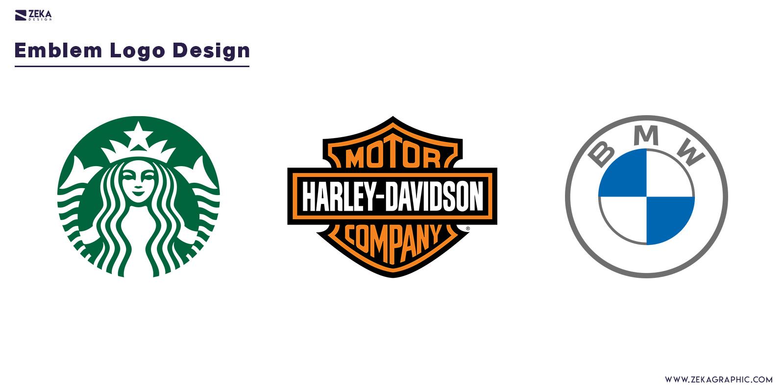 Emblem Logo Design Type Graphic Design Blog Inspiration