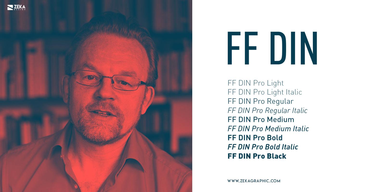 FF Din Fonts Every Graphic Designer Should Have