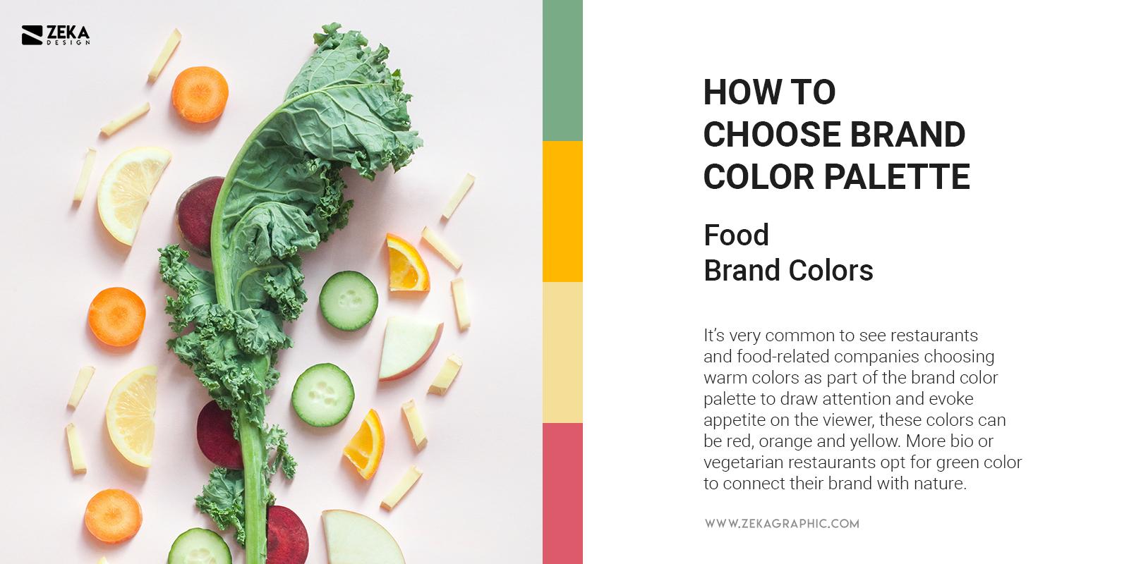 Food And Restaurants Brand Colors Trend Branding Tips