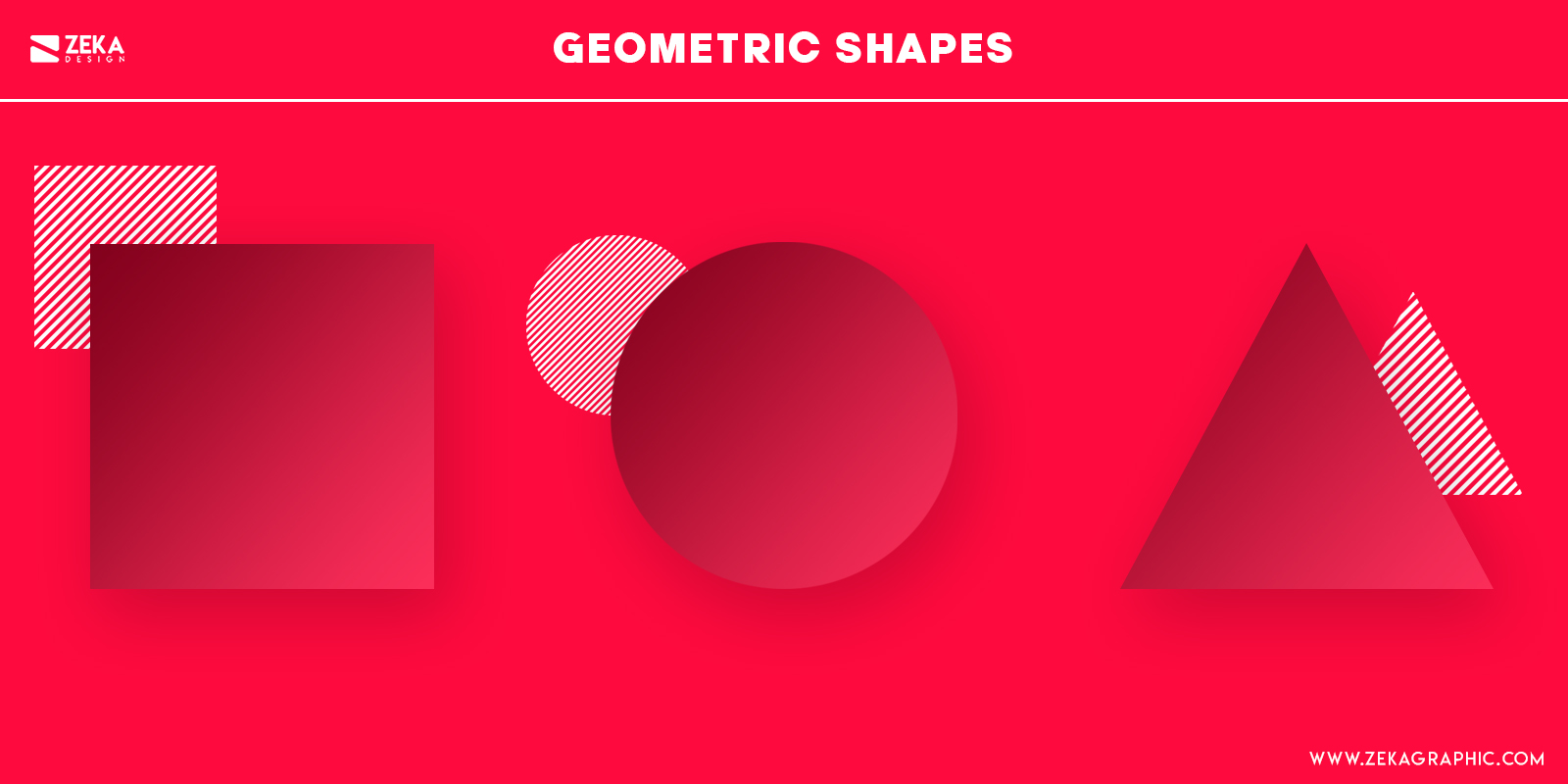 Geometric Shapes Psychology in Graphic Design