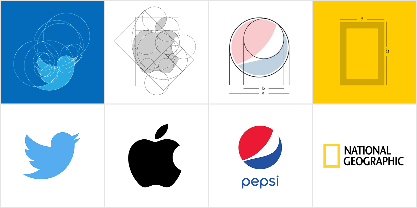 Golden Ratio In Logo Design Examples