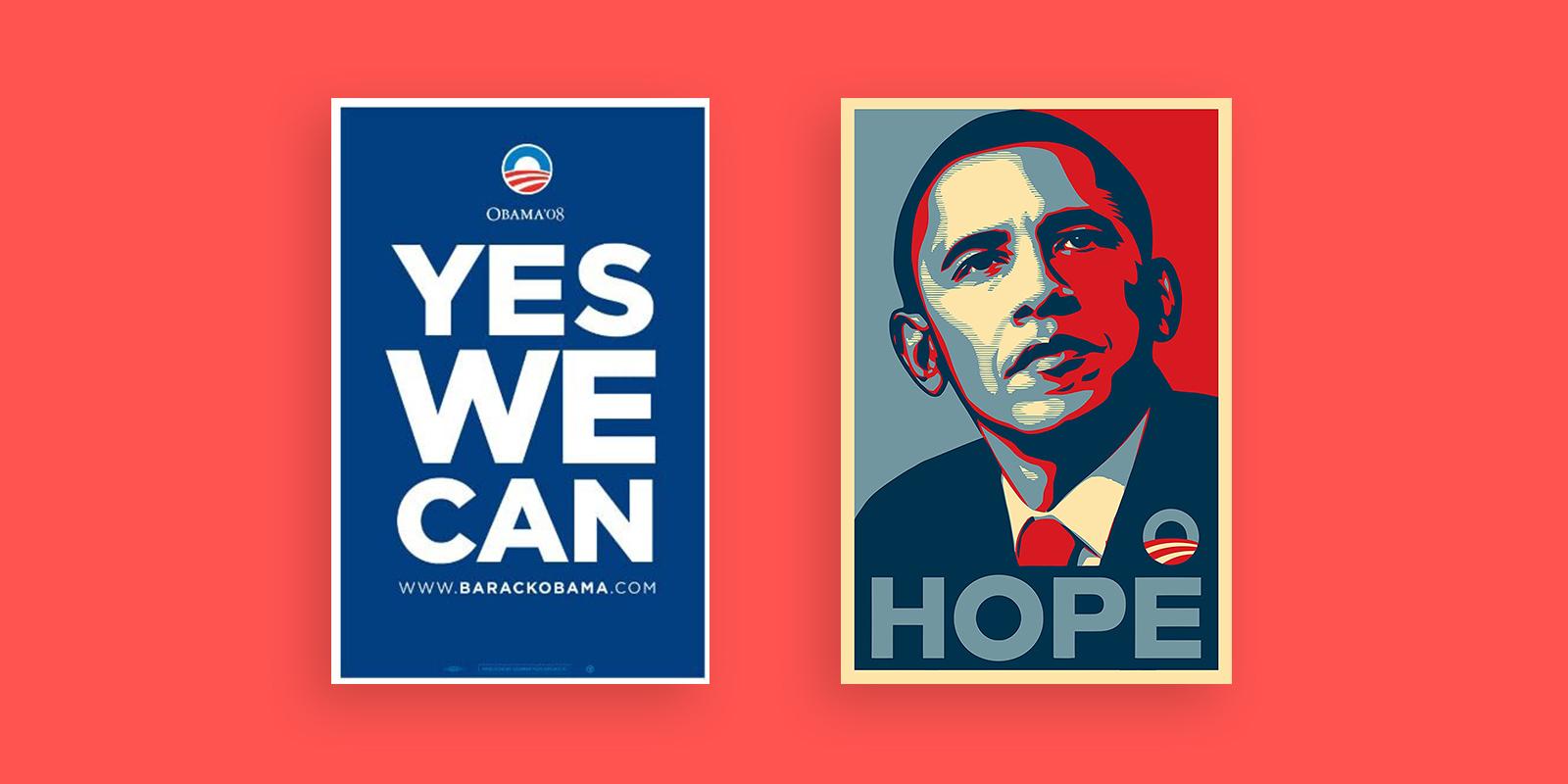 Gotham Barack Obama Yes We Can Poster Design
