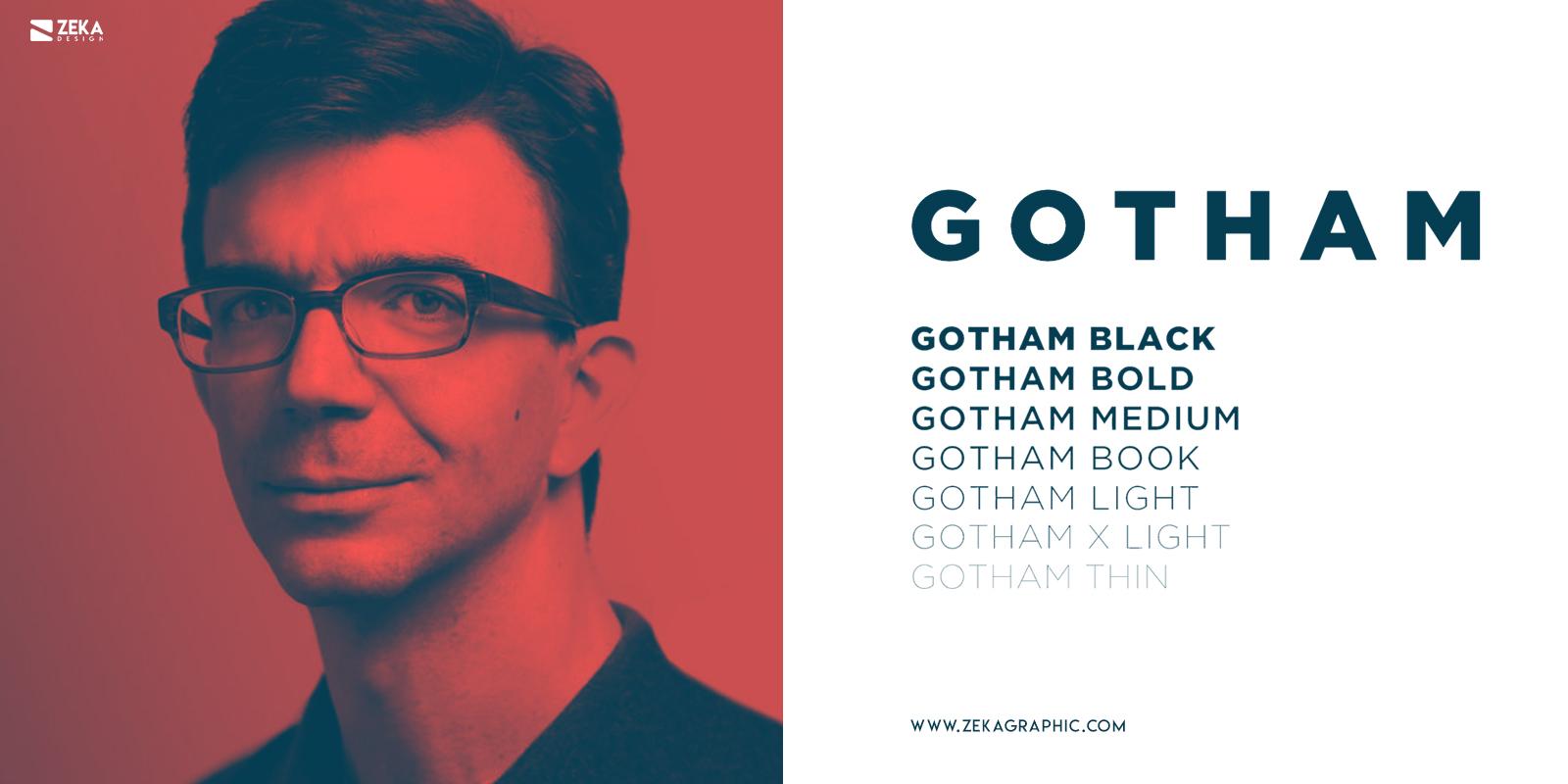 Gotham Fonts Every Graphic Designer Should Have