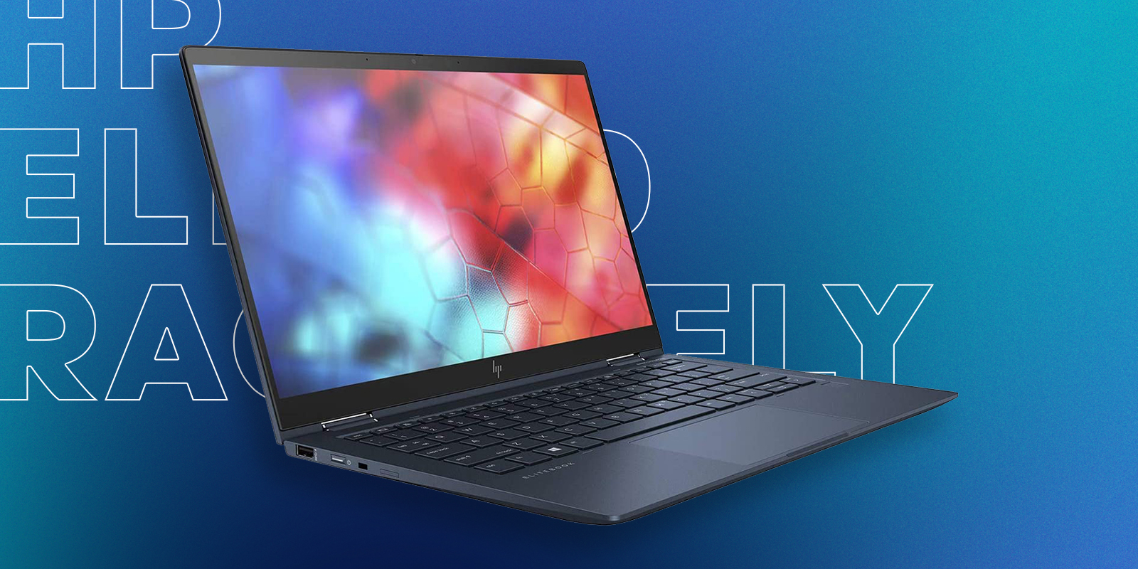HP Elite Dragonfly Best 2-in-1 laptop in 2021 for Graphic Design