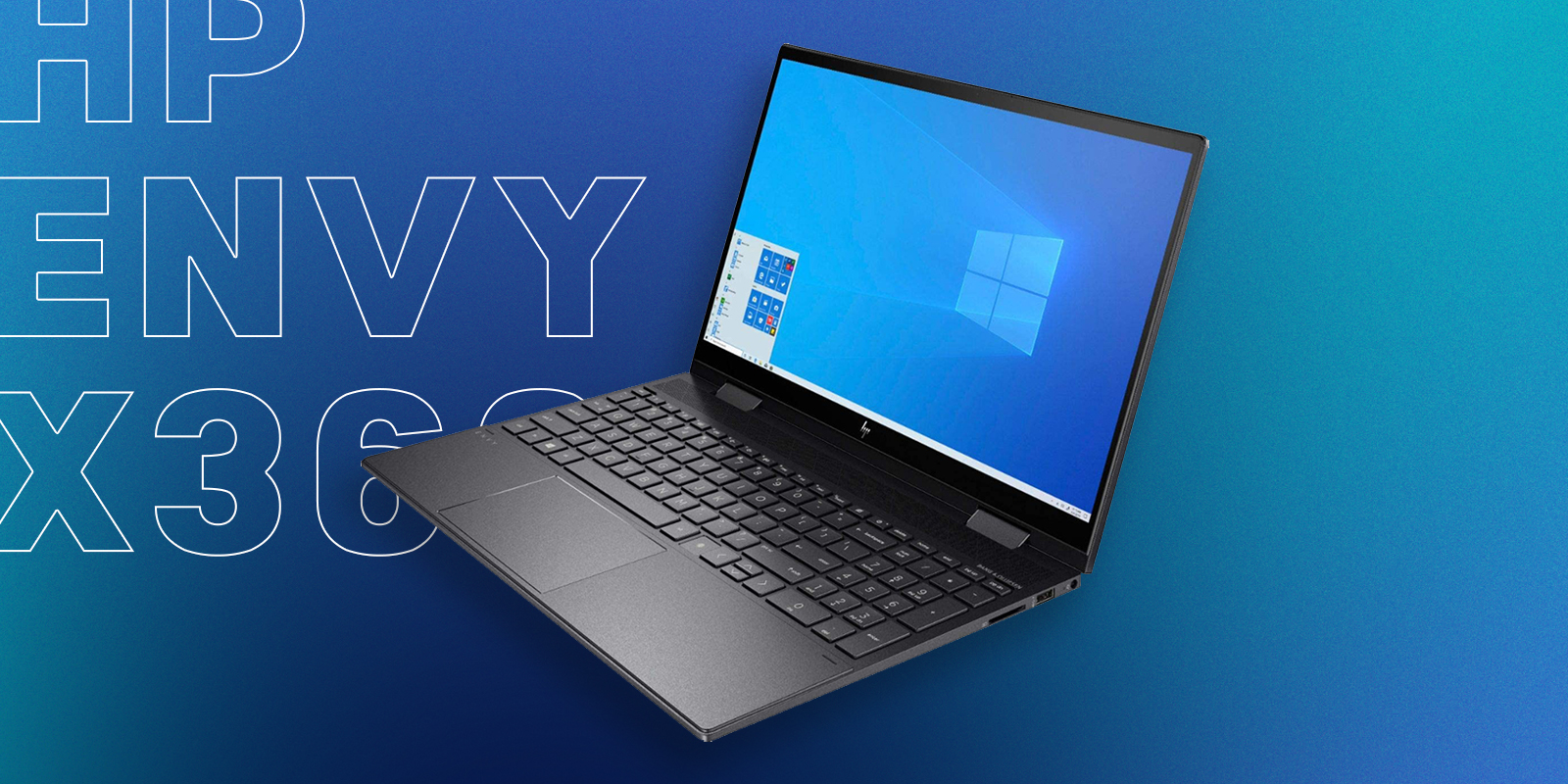 HP Envy x360 Best Budget-Friendly 2 in 1 Laptop for Graphic Design