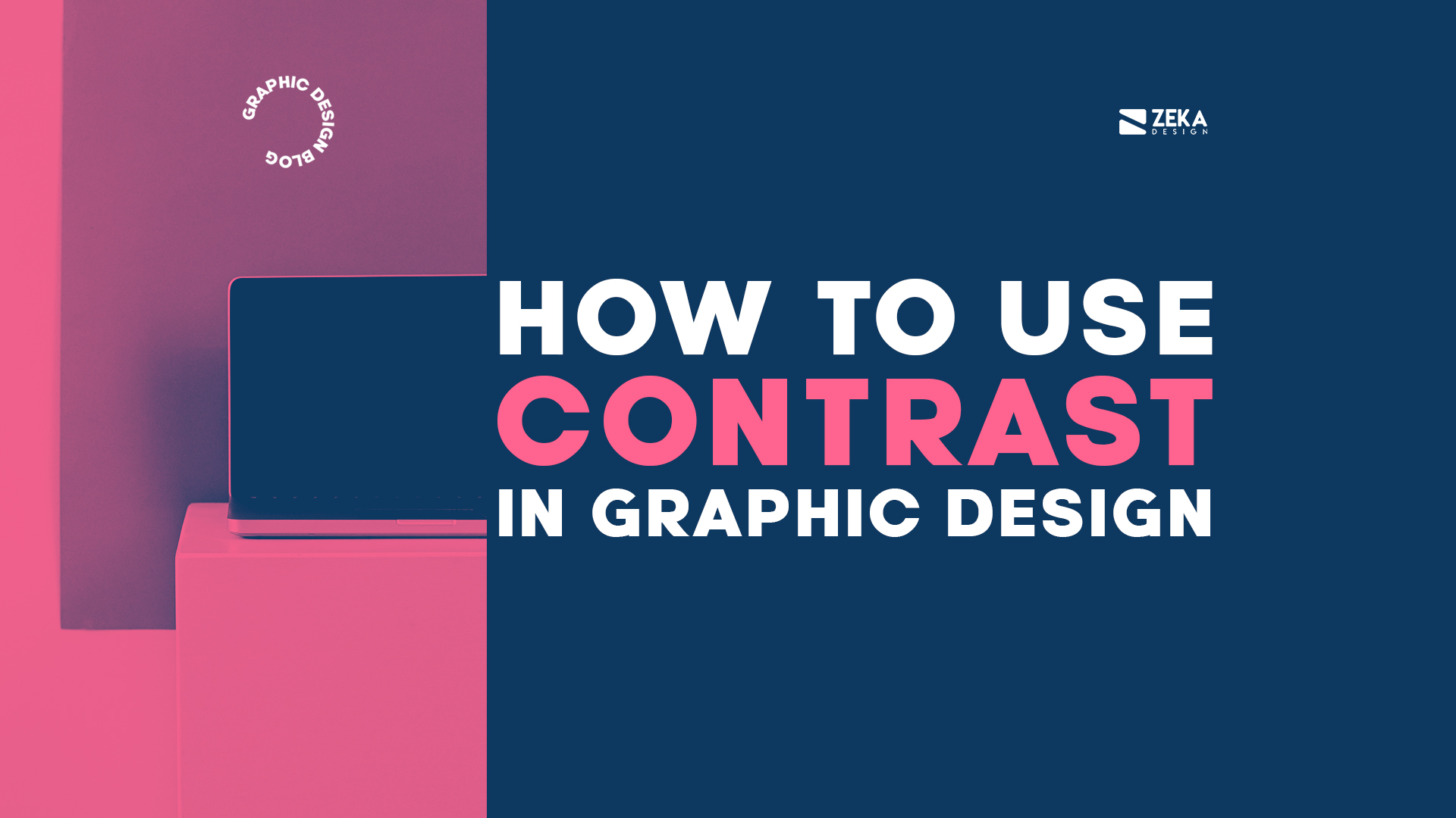 How To Use Contrast in Graphic Design Visual Hierarchy Principles Explained
