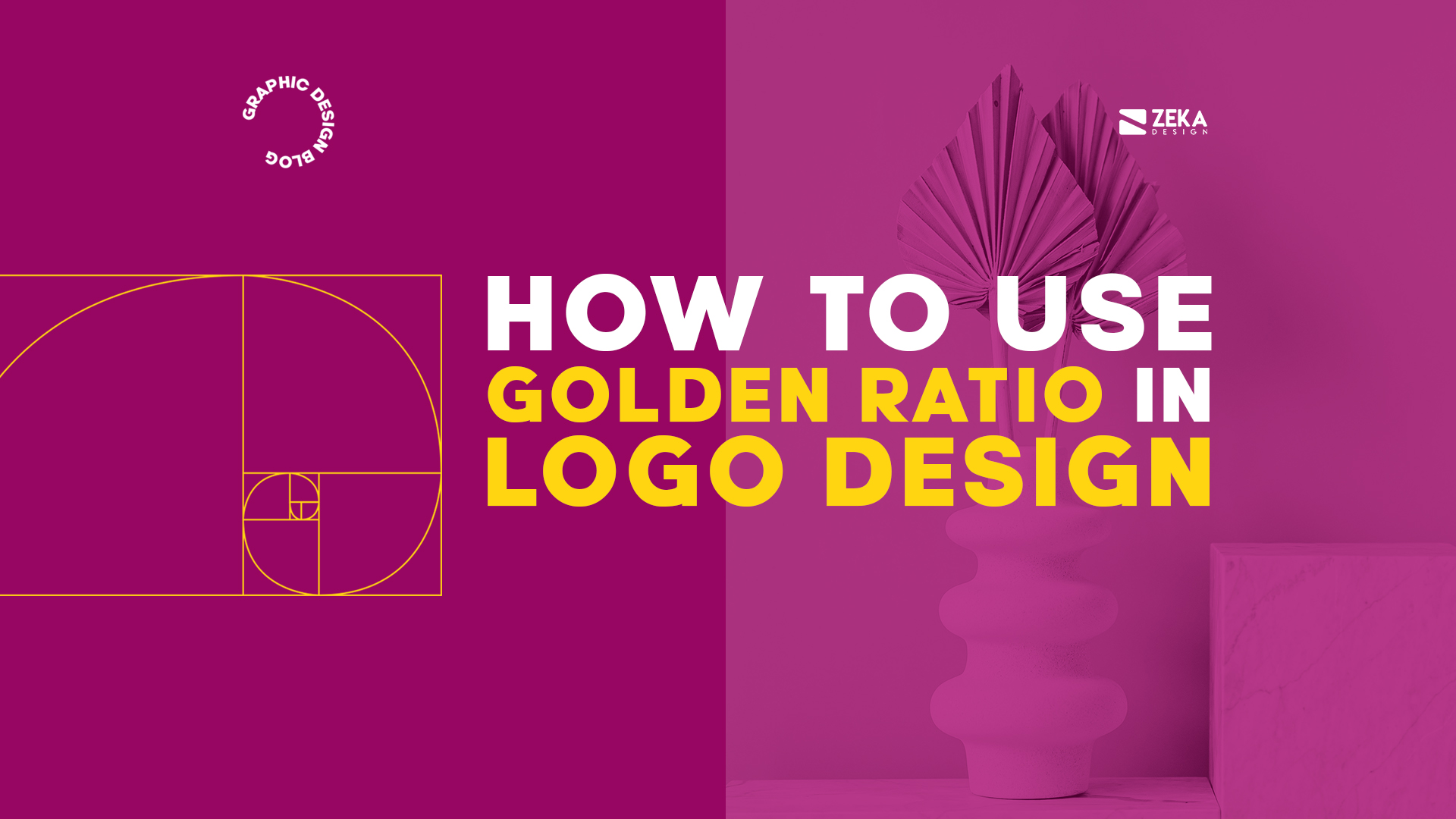 How To Use Golden Ratio In Logo Design Graphic Design Tutorial