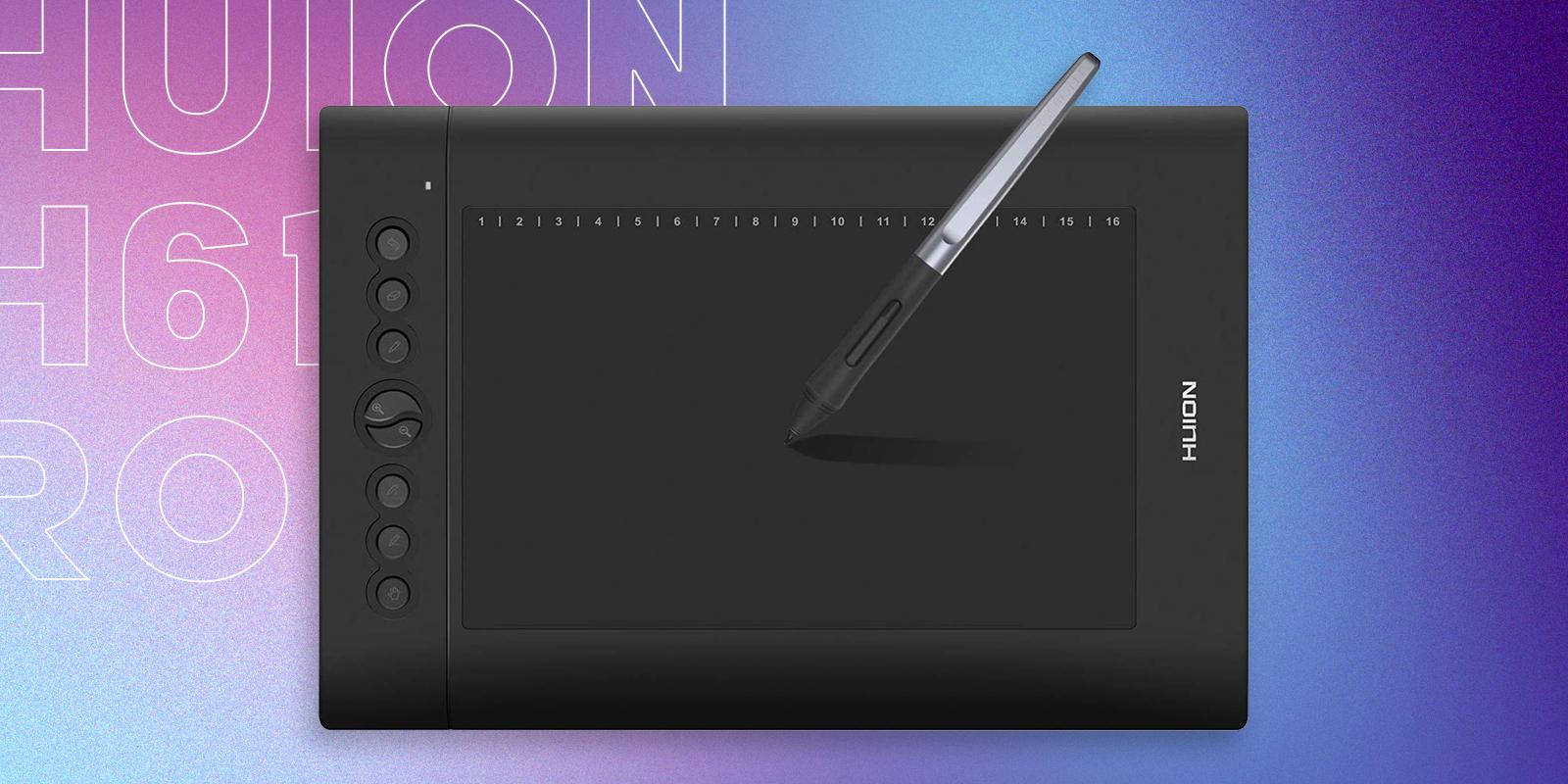Huion H610 Pro V2 Best Ultra Cheap Drawing Tablet for Digital Art