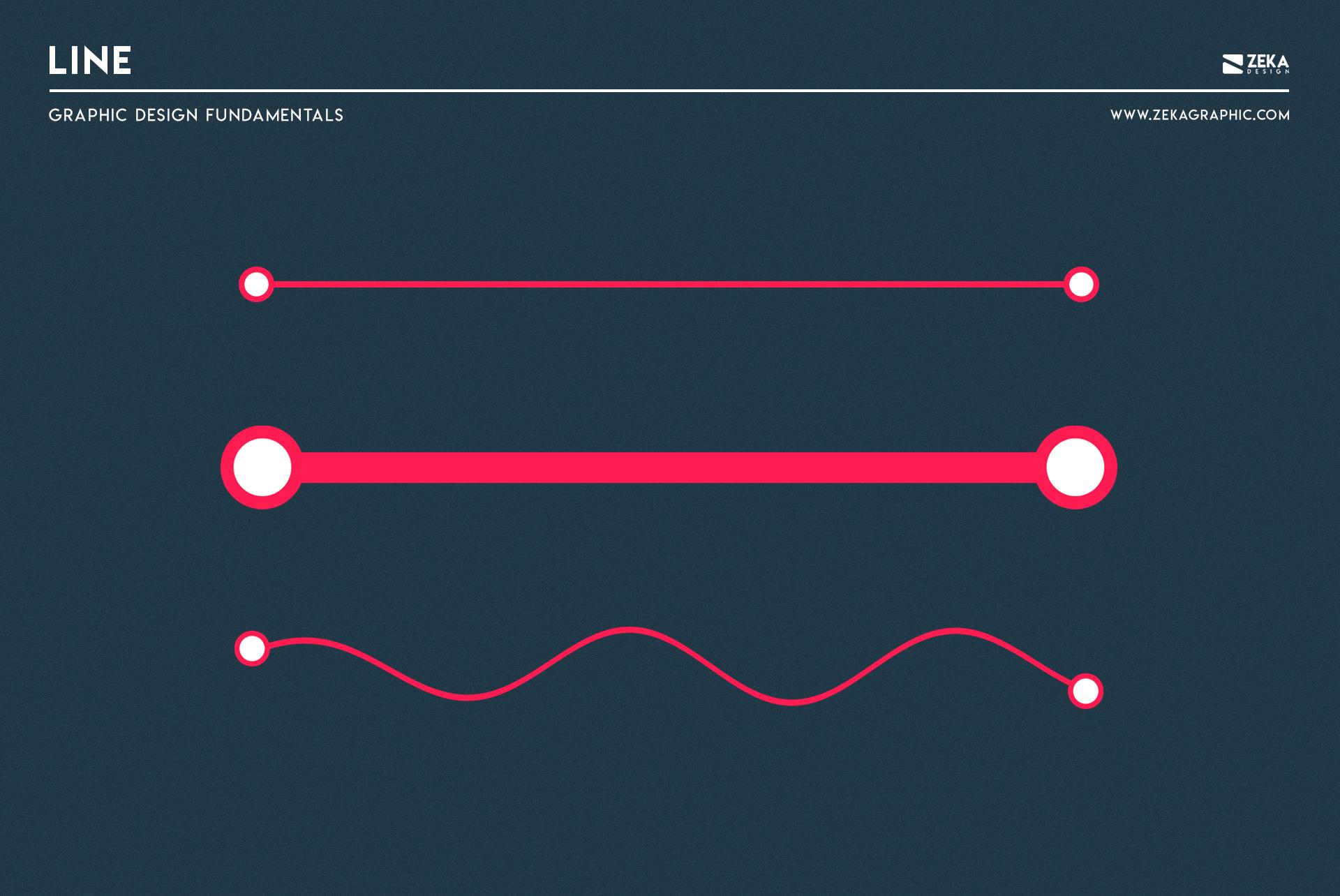 Line Graphic Design Fundamental Elements