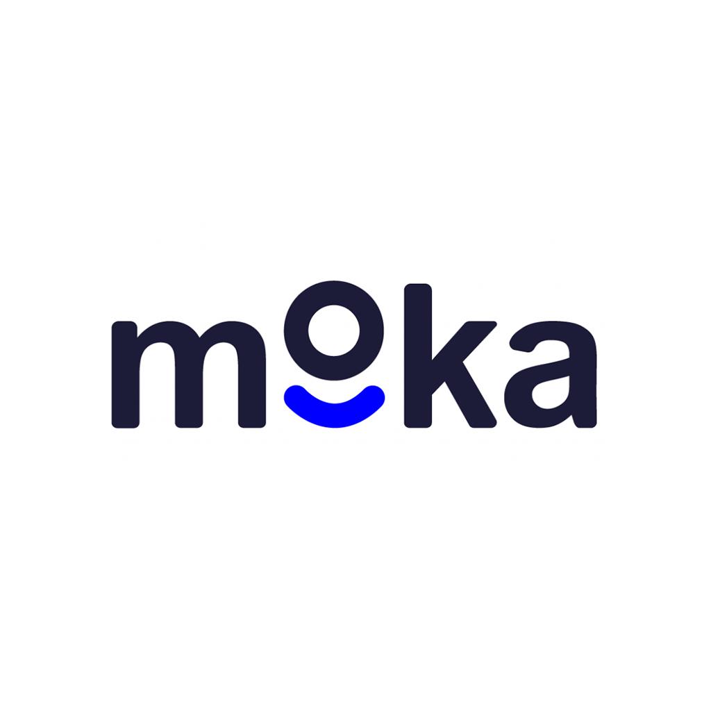 Logo Design Trends 2021 Negative Space Moka Logo