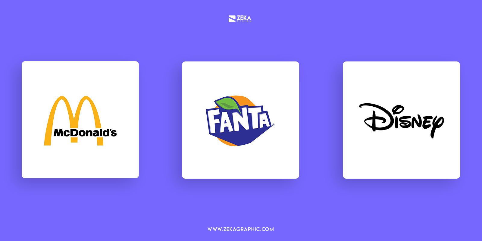 Logo Design Using Display and Decorative Font Typography