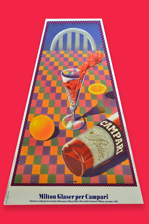 Milton Glaser Campari Poster Design Inspiration
