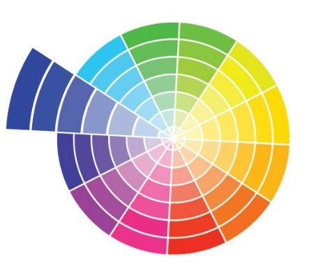 Monochromatic Color Harmony Palette