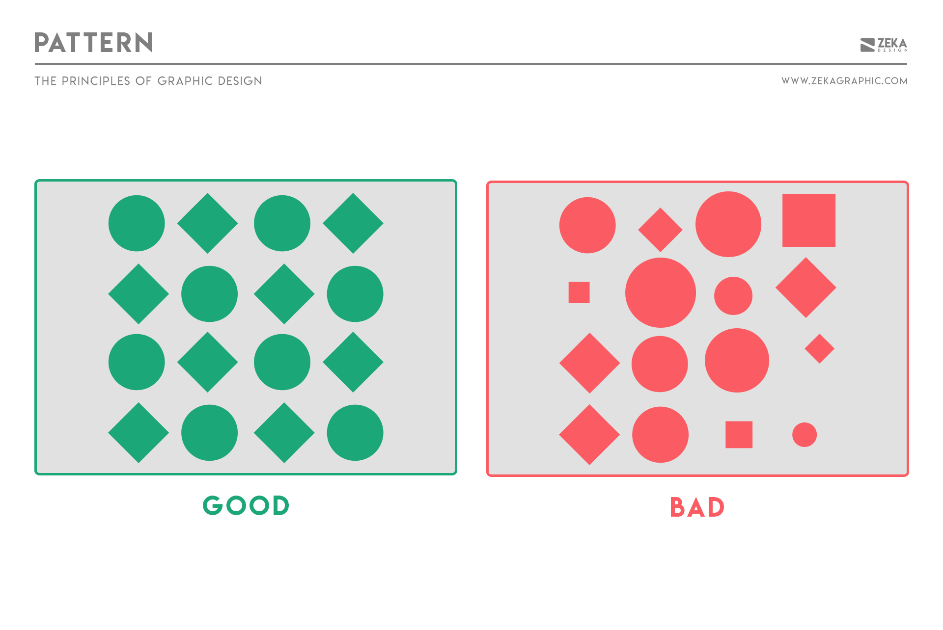 Pattern Principle in Graphic Design Explained